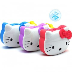 Детский MP3-плеер Hello Kitty с динамиком (Bluetooth / FM-радио / MicroSD)