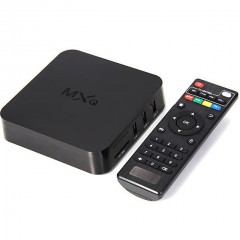 Android-приставка MXQ TV BOX 4x CPU 4x GPU для телевизоров и проекторов