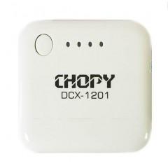 Внешний портативный аккумулятор для мобильных устройств CHOPY DCX-1201 2000 mah