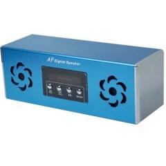 Мобильная аудиоколонка AF-05 с MP3 плеером, FM радио и слотом Micro SD