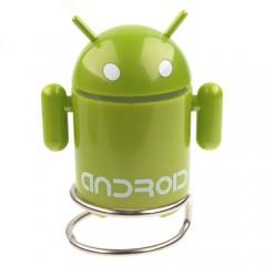 Мобильная аудиоколонка в форме Android c mp3 плеером и FM радио