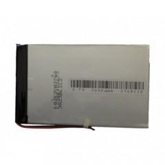Аккумуляторная батарея с подключением 2-ух проводов - 3000 mAh, 3.7V, размер 90 x 50 x 3 мм.