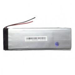 Аккумулятор с проводами - 3400 mAh, 3.7V (110 x 45 x 3 мм.)