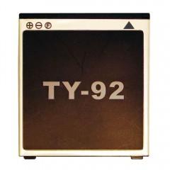 Аккумуляторная батарея TY-92 1200 mAh, 3.7V, 3.2Wh, размер 57 x 53 x 3 мм.