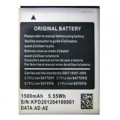 Аккумуляторная батарея 1500 mAh, 3.7V, 5.55Wh (59 x 46 x 4 мм.)