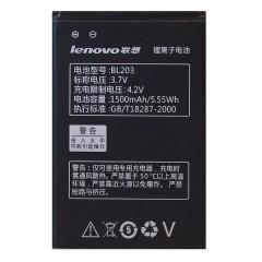 Аккумуляторная батарея BL203 1500 mAh (76 x 50 x 4 мм.) для Lenovo A278T, A308T, A318T, A365E, A369, A66, A385E, A309, A278, A380E, A228T, A238T, A396, A3