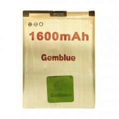 Аккумуляторная батарея Gemblue BL-4D 1600 mAh, 3.7V, размер 60 x 44 x 4,5 мм.