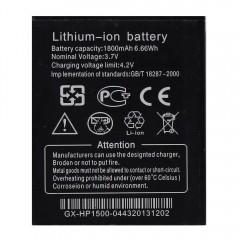 Аккумуляторная батарея 1800 mAh, 3.7V, 6.66Wh (64 x 53 x 4 мм.)