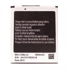 Аккумуляторная батарея EB-L1G6LLU 1800 mAh, 3.7V, 7.77Wh, размер 57 x 48 x 5 мм.