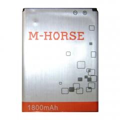 Аккумуляторная батарея M-HORSE 1800 mAh, 3.7V, размер 57 x 43 x 5 мм.
