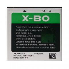 Аккумуляторная батарея X-BO KB365250A 1800 mAh, 3.7V, 6.66Wh (53 x 54 x 4 мм.)