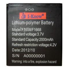 Li-pol аккумуляторная батарея F1658/F1668 2000 mAh
