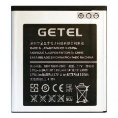 Аккумуляторная батарея GETEL I9070 2000 mAh, 3.7V, 5.00Wh, размер 57 x 52 x 4 мм.