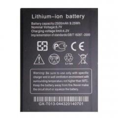 Аккумуляторная батарея 2500 mAh, 3.7V, 9.25Wh (92 x 69 x 4 мм.)