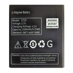 Аккумуляторная батарея S720 2500 mAh / 9.25Wh (58 x 51 x 5 мм.)