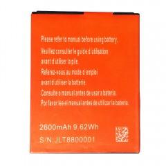 Li-ion аккумуляторная батарея 2600 mAh, 3.7V, 9.62Wh (75 x 58 x 3 мм.)