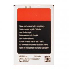 Аккумуляторная батарея KB355581A 2800 mAh, 3.7V, 10.36Wh (85 x 59 x 4 мм.)