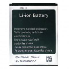Аккумуляторная батарея EB615268VU 3200 mAh, 3.7V, 7.77Wh, размер 68 x 54 x 5 мм.