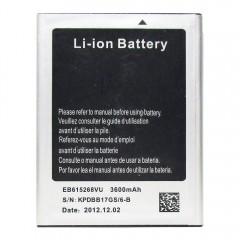 Аккумуляторная батарея EB615268VU 3600 mAh, 3.7V, 13.32Wh (84 x 66 x 4 мм.)