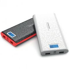Мощный портативный внешний аккумулятор PINENG PN-920 20000 mAh (2 USB)