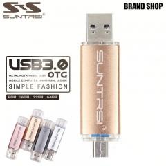 USB 3.0 флешка Suntrsi OTG 8-64 GB PC-Android (USB - Micro USB)