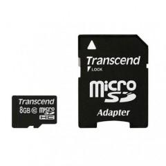 Карты памяти MicroSDHC Transcend на 4-8-16-32 GB Class10