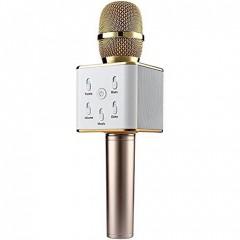 Беспроводной Bluetooth караоке микрофон Q7 со встроенной колонкой