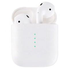 Беспроводные сенсорные наушники i10 TWS Bluetooth с док-станцией