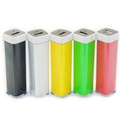 Портативный внешний акумулятор Universal 2600mAh Power Bank для зарядки мобильных устройств