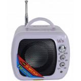 Мини-колонка WS-575 (FM / USB / MicroSD)