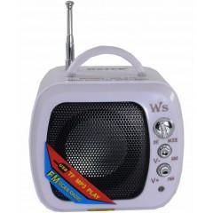 Портативная мини-колонка WS-575 (FM / USB / MicroSD)