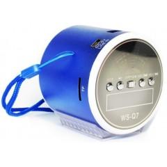 Акустическая MP3-колонка WSTER WS-Q7 (FM / USB / TF / AUX)