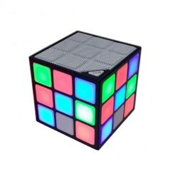 Стерео мини Bluetooth динамик куб 36 LED Cube Speaker (MicroSD)