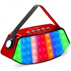 Bluetooth стерео-колонка WS-1518BT с подсветкой (FM-радио / USB / MicroSD)