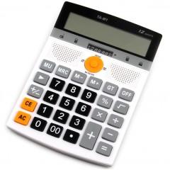 Калькулятор TA-M1 с MP3-плеером, радио и поддержкой флешек (USB/TF)