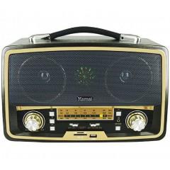 Стерео ретро радио-колонка Kemai MD-1701U (10 Вт) (FM / USB / SD)