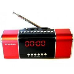 Портативная акустическая колонка Texnano TE-91 (FM / USB / SD / AUX)