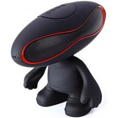 Bluetooth колонка с LED подсветкой Rugby Q30A (Bluetooth, FM, MP3, AUX)