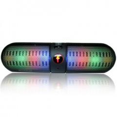 Портативные Bluetooth колонки BT808L / BT908XL с LED-подсветкой (FM / USB / TF)