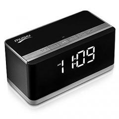 Bluetooth аудиоколонка Musky DY-27 с часами (FM / USB / MicroSD / AUX) (10 Вт)