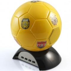 Портативный динамик с FM-радио / USB / MicroSD - в виде футбольного мяча