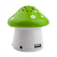 "Колонка-игрушка для детей ""Грибок"" YPS-F28 с функциями плеера и фонарика (FM / USB / TF)"