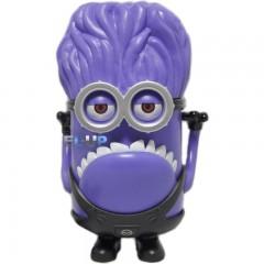 MP3 аудио колонка злой фиолетовый миньон (FM / MicrooSD / USB / LINE)