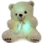 Колонка мягкая игрушка Мишка с подсветкой