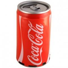 Портативная аудио колонка  банка Coca-Cola (MP3 / FM / USB / TF / AUX)