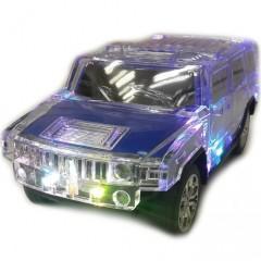 MP3 колонка-машинка Hummer WS-H3 с подсветкой кузова (FM / USB / MicroSD)