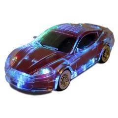 MP3 колонка-машинка Aston Martin WS-789 с подсветкой кузова (FM / USB / MicroSD / AUX)