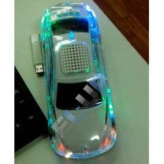 Уцененная колонка-машинка BMW SD-770 с подсветкой кузова (отломано колесо)