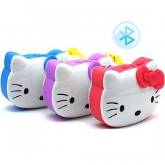 Детский MP3-плеер Hello Kitty с динамиком (Bluetooth / FM-радио / MicroSD)