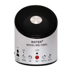 Мультимедийная MP3 колонка Wster WS-139RC с радио и поддержкой флешек